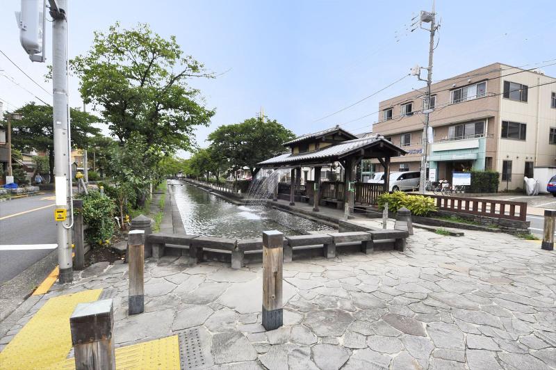 曳舟側親水公園(水遊び)