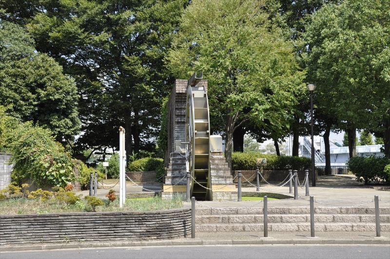 六木水の森公園水車の広場