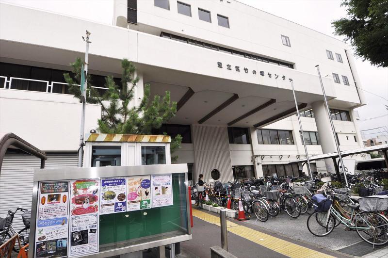 竹の塚図書館