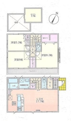 千葉県鎌ケ谷市東中沢3丁目の物件画像