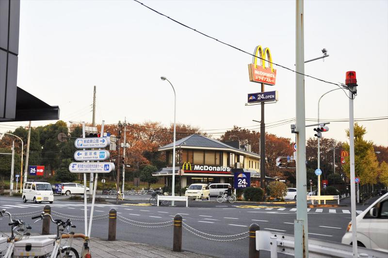 マクドナルド環七大谷田店