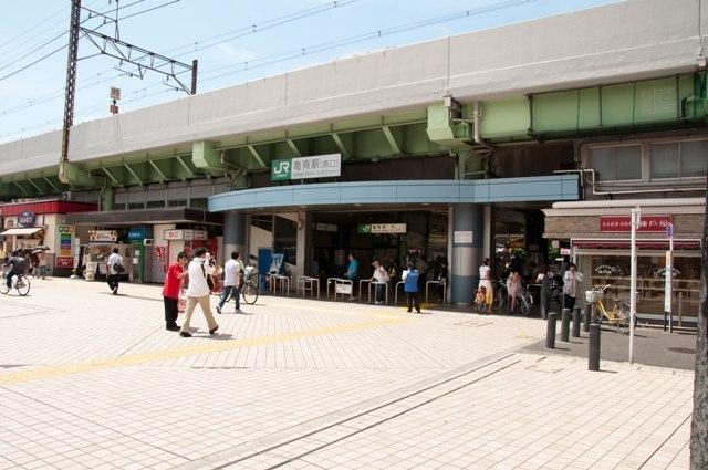 常磐線「亀有」駅バス12分 「都営住宅前」停歩4分