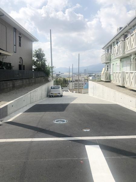 前面道路含む現地