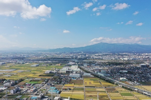 富士山を臨む暮らしを。 眺望良好です!