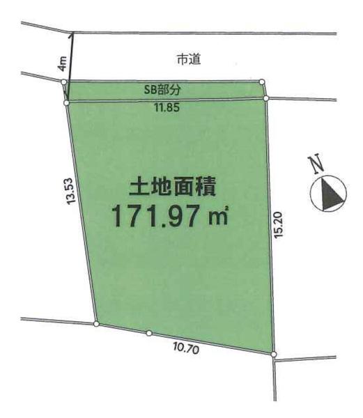 土地広々48坪!分割可能です。