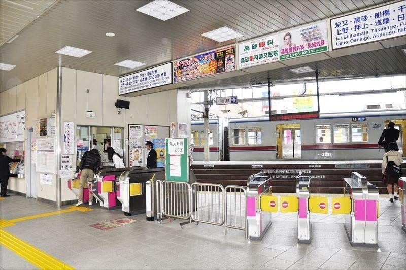 京成金町線「京成金町」駅