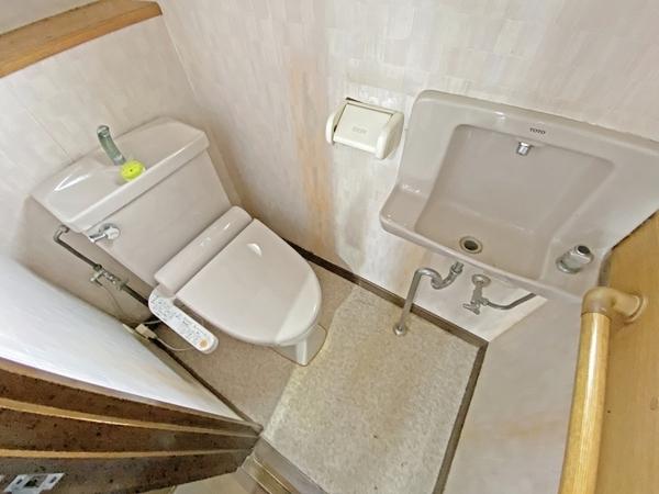 手洗い場付トイレ