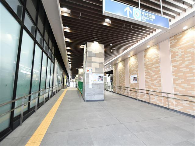 リニューアルした東京メトロ千代田線「北綾瀬駅」
