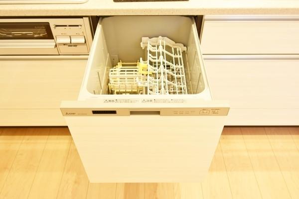 食洗機付きで主婦の方には嬉しい!!