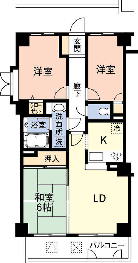サンビュー光風台 4階