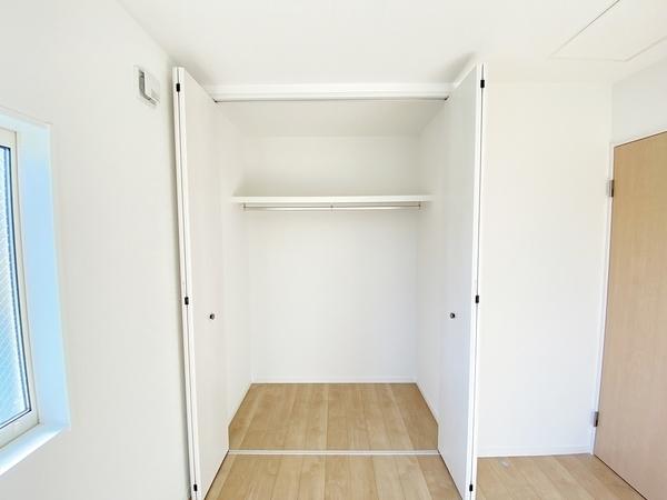 収納スペース充実でしっかり片付けられます