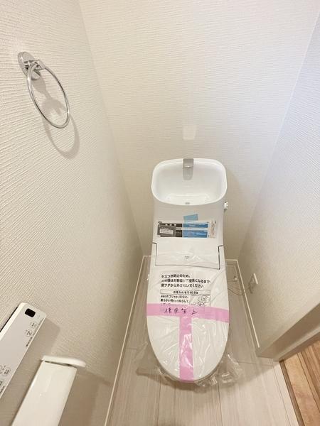 ウォッシュレットトイレです。