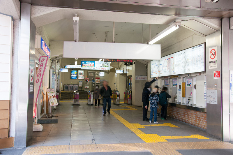 京成本線『堀切菖蒲園駅』