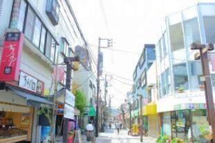 谷津遊路商店街 600m