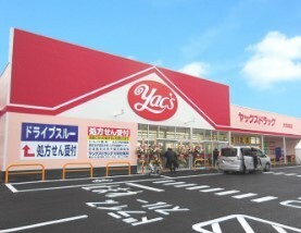 ヤックスドラッグ大和田店 450m