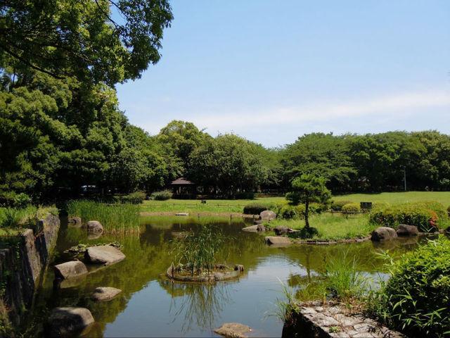 県立行田公園 550m 広域避難場所としての機能を有しております。 (船橋市公式ホームページ参照)