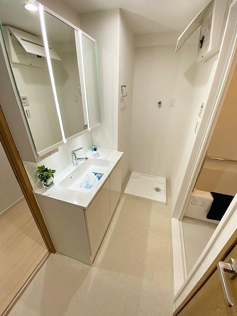 洗面ランドリースペースです。