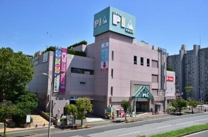 ショッピングセンターPIA 550m