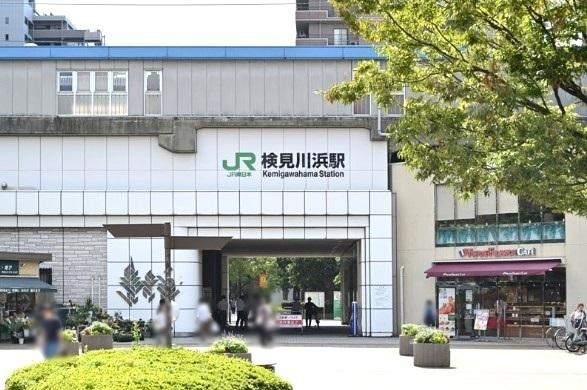JR京葉線・検見川浜駅 780m
