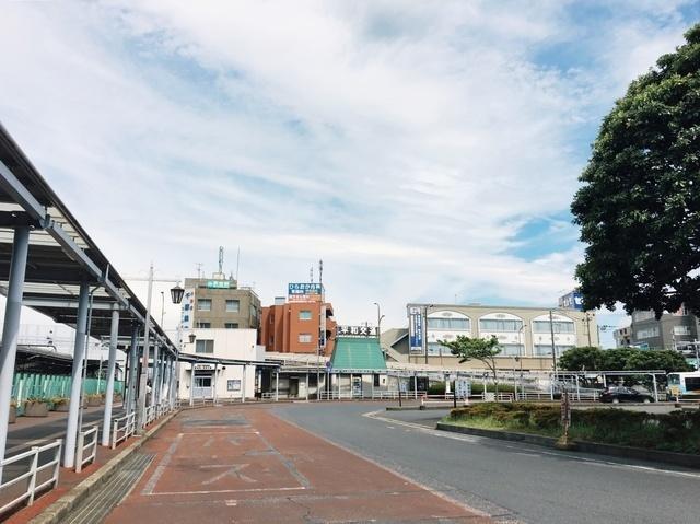 JR総武線・新検見川駅 1230m