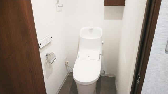 新規・温水洗浄トイレ交換致しました。