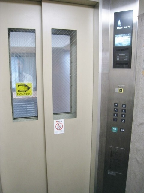 エレベーター設置マンションです。