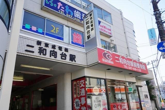 1860m 新京成線・二和向台駅(1860m)
