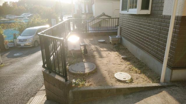 ガーデニングも楽しめるお庭スペースもございます。