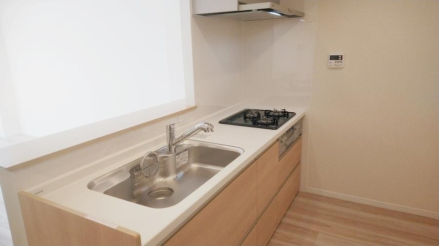 シンプルで使いやすいキッチンです。
