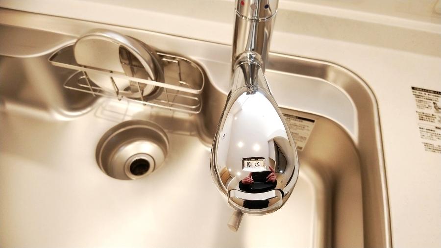 浄水器搭載のシステムキッチンです。