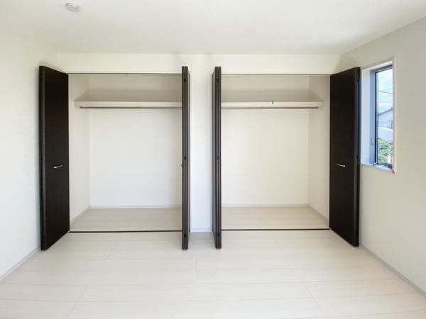 各居室収納スペース充実しています。
