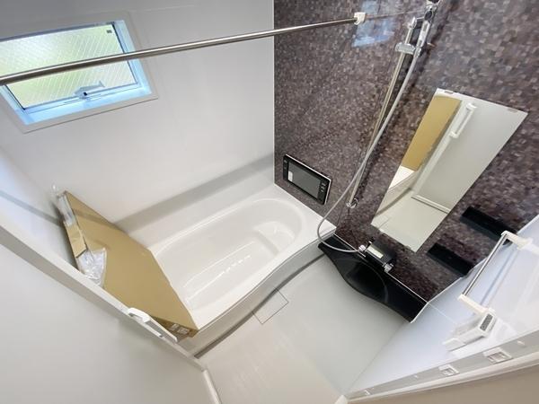 嬉しい大型浴室TV付。浴室乾燥機付。