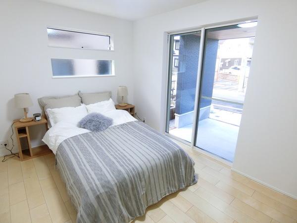 【内観施工例】プライベートの空間を守れる居室