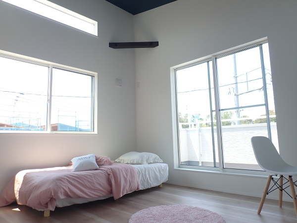 【内観施工例】明日へのエネルギーを充電する主寝室