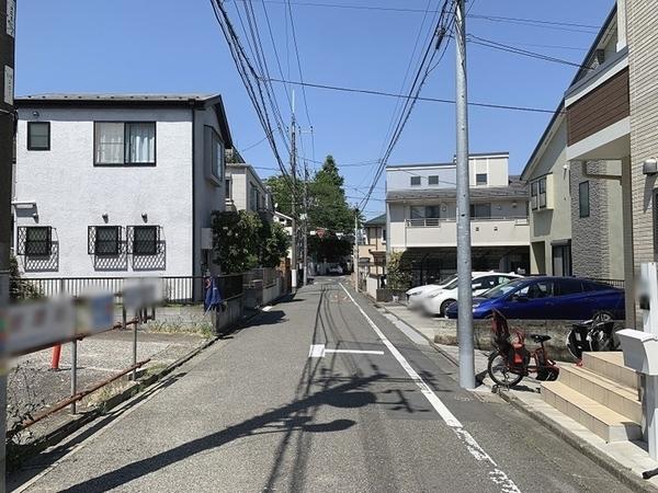 前面道路約5.4mで車の運転がしやすい。
