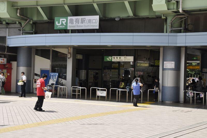 常磐線『亀有駅』