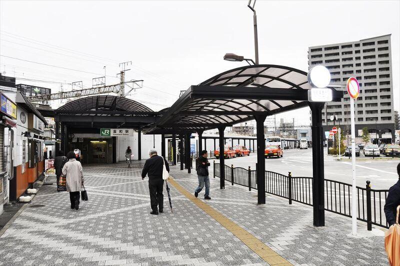 JR常磐線『金町駅』