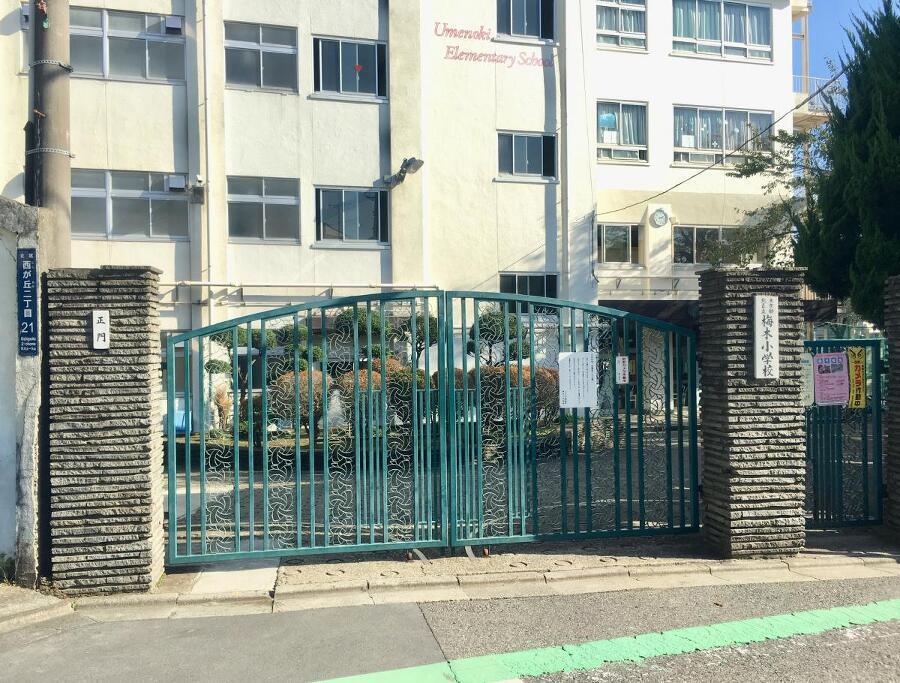 北区立梅木小学校 340m