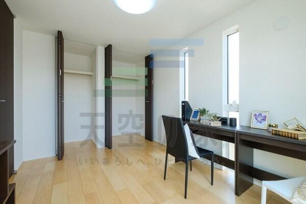 充実の収納スペース、お部屋を広く快適に♪