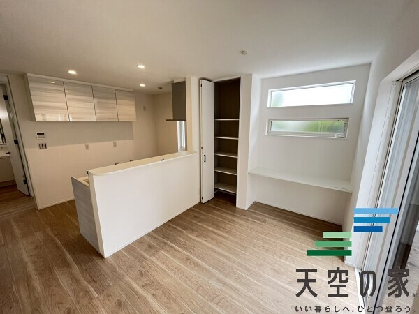 家具の配置がしやすく、お好きな家具を置くことができますね。